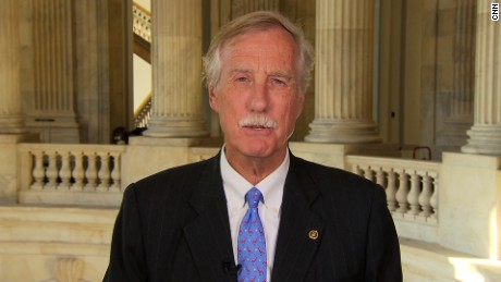 Sen Angus King on TSR