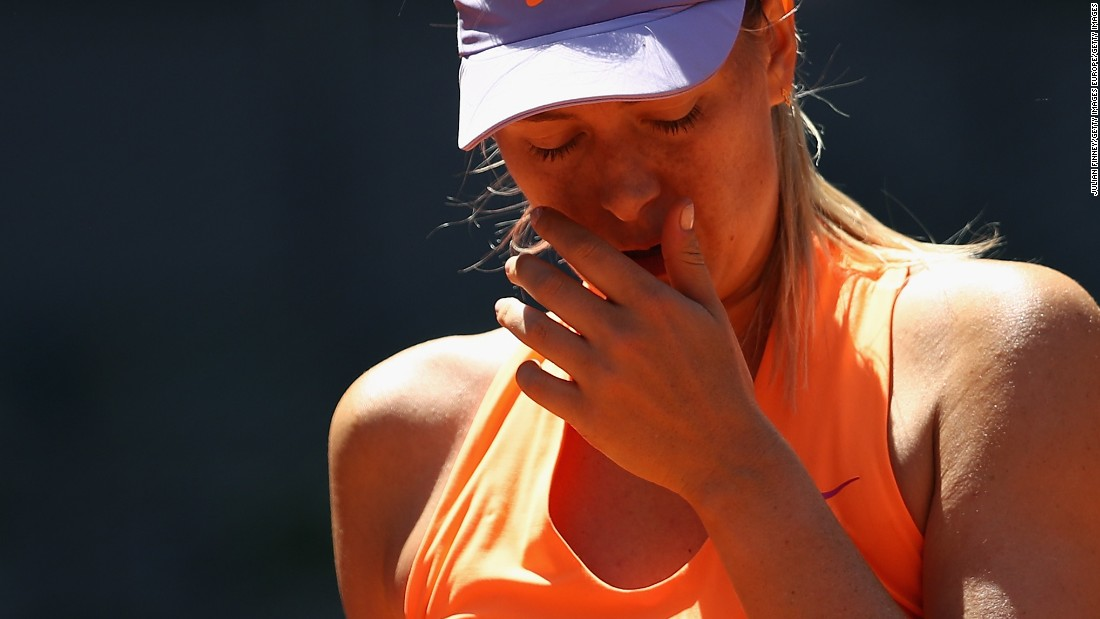 It's Maria Sharapova's 'least favorite place in the world""
