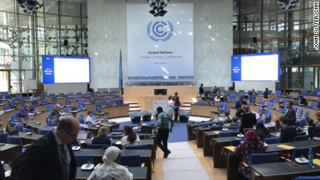 More than 140 countries are meeting in Bonn, Germany, to discuss international climate policy.