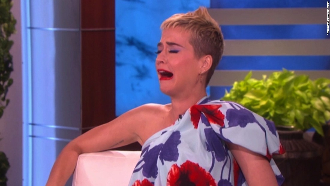 Ellen forgets Katy Perry was married - CNN Video