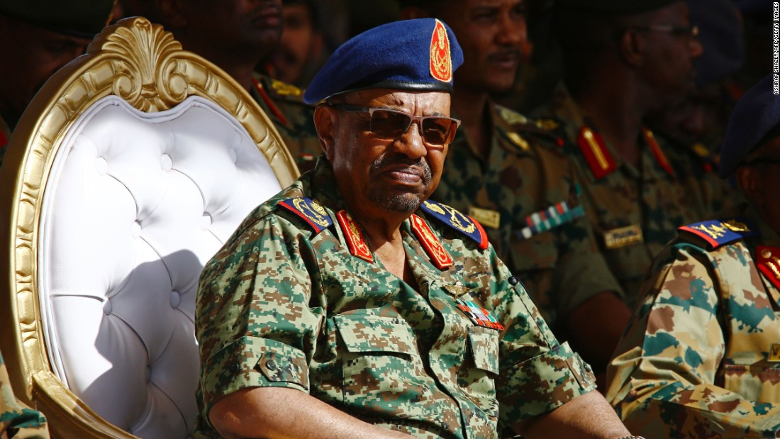 Sudan's Bashir charged for protestors' deaths