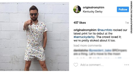 6668c90a6ca7 Why everyone is talking about male rompers - CNN