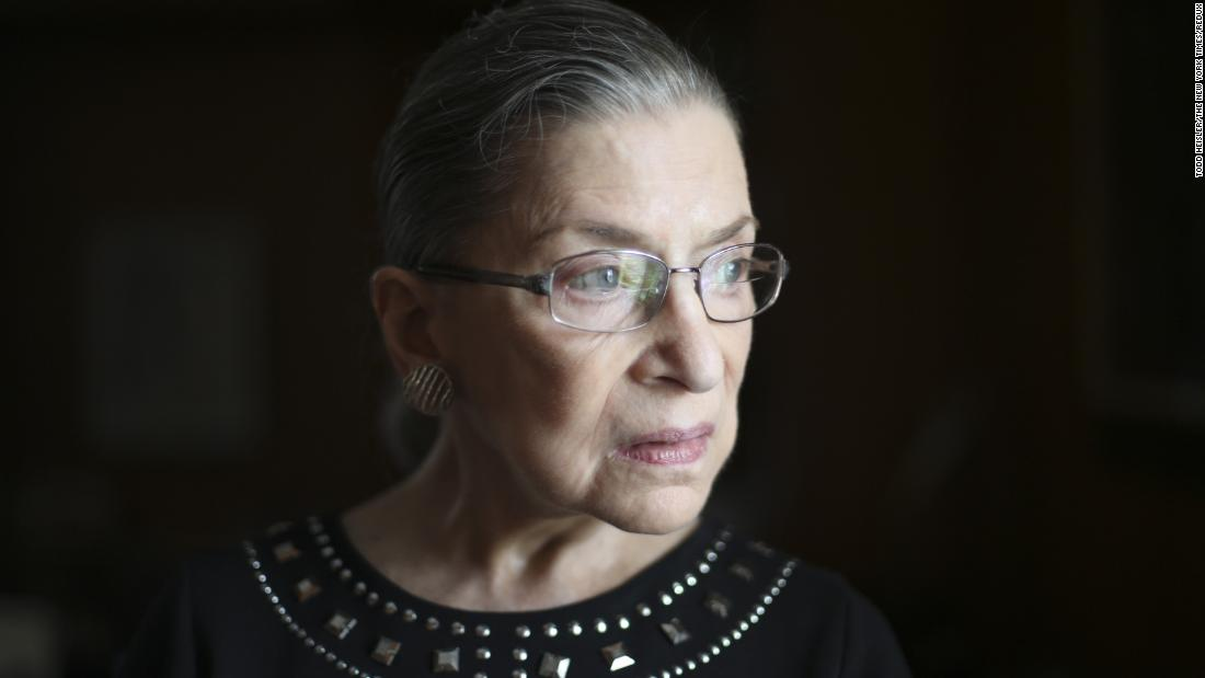 Ruth Bader Ginsburg appeared before the Senate Judiciary Committee for her Supreme Court nomination hearings in 1993CreditCreditStephen Crowley Did you