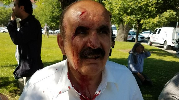 Protesters clashed with Turkish officials in DC last week.
