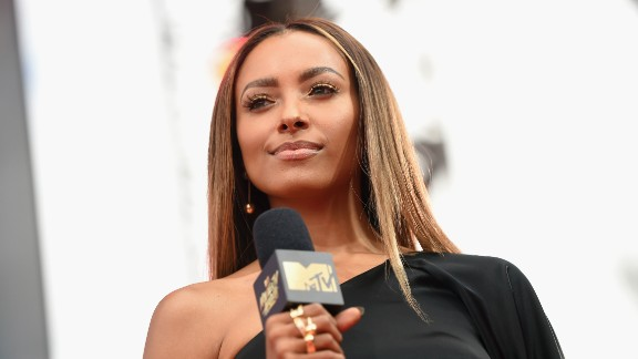 Kat Graham attends the 2017 MTV Movie And TV Awards on May 7, 2017 in Los Angeles, California.