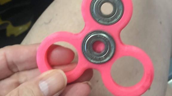 Britton Janiec's fidget spinner.
