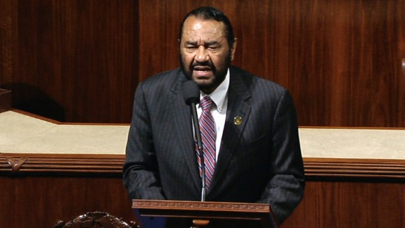 Democratic Rep. Al Green of Texas called for the impeachment of President Donald Trump Wednesday, May 17. He is the first member of Congress to officially request leveling charges against the President from the House floor.