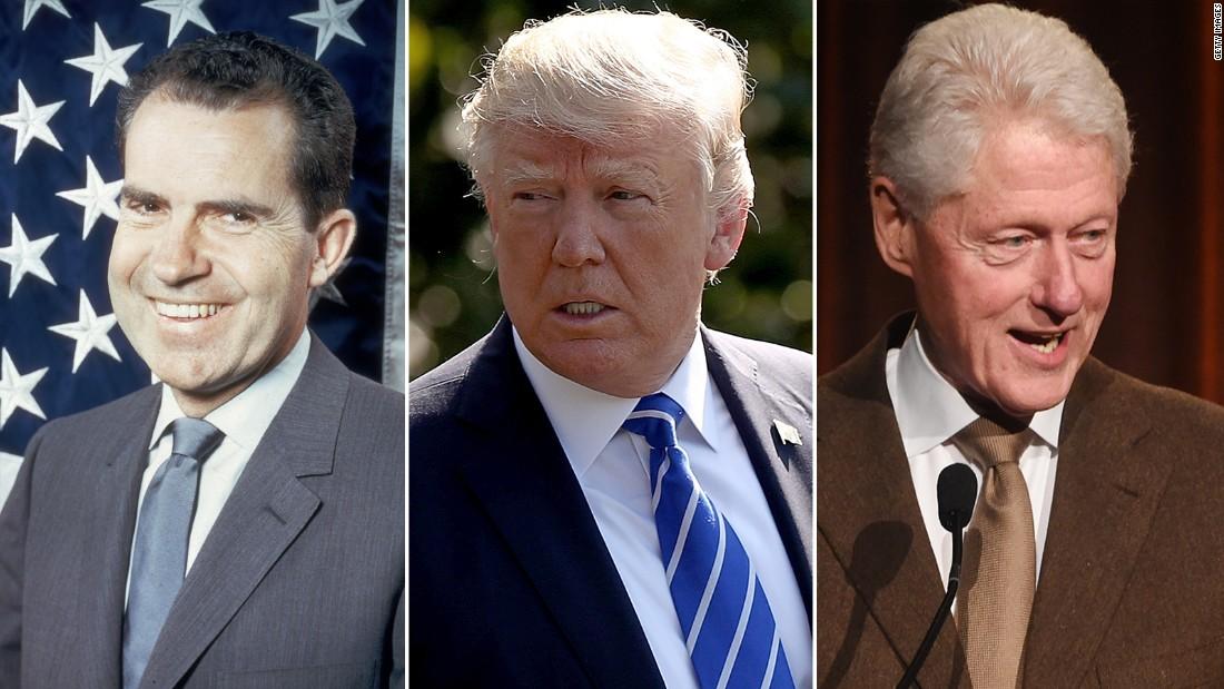 Fewer support impeaching Trump