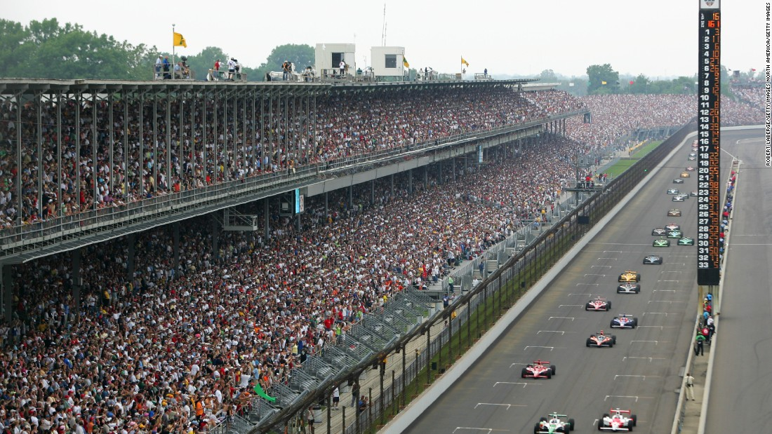 Organizers estimate around 300,000 spectators attend the race which is full of incident and drama.