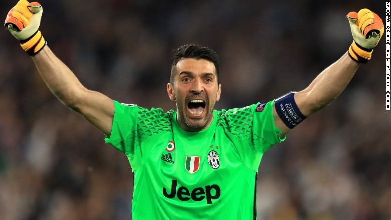 374082e43e0 Gianluigi Buffon: Referee has 'garbage bin' for heart says Juventus ...