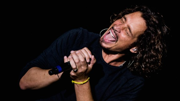 SAO PAULO, BRAZIL - APRIL 06:  Chris Cornell of Soundgarden performs on stage during the 2014 Lollapalooza Brazil at Autodromo de Interlagos on April 6, 2014 in Sao Paulo, Brazil.  (Photo by Buda Mendes/Getty Images)