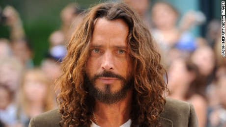 "TORONTO, ON - SEPTEMBER 11:  Musician/actor Chris Cornell  arrives at the premiere of ""Machine Gun Preacher"" at Roy Thomson Hall during the 2011 Toronto International Film Festival on September 11, 2011 in Toronto, Canada.  (Photo by Jason Merritt/Getty Images)"