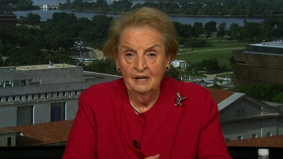 """Madeleine Albright is concerned that there is """"not a full team that is working at the State Department"""" as President Trump preps for his first foreign trip, the former Secretary of State said on CNN."""