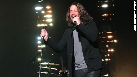 Chris Cornell peformed with Soundgarten in Detroit, Michigan, on Wednesday, just hours before he died.