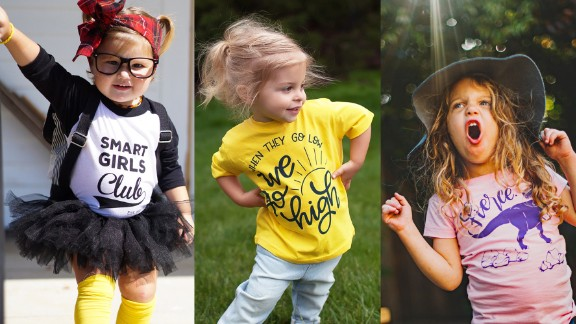 Free to Be Kids offers shirts with three different fits so girls have options.