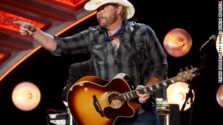 Toby Keith to perform in Saudi Arabia on weekend of Trump's trip