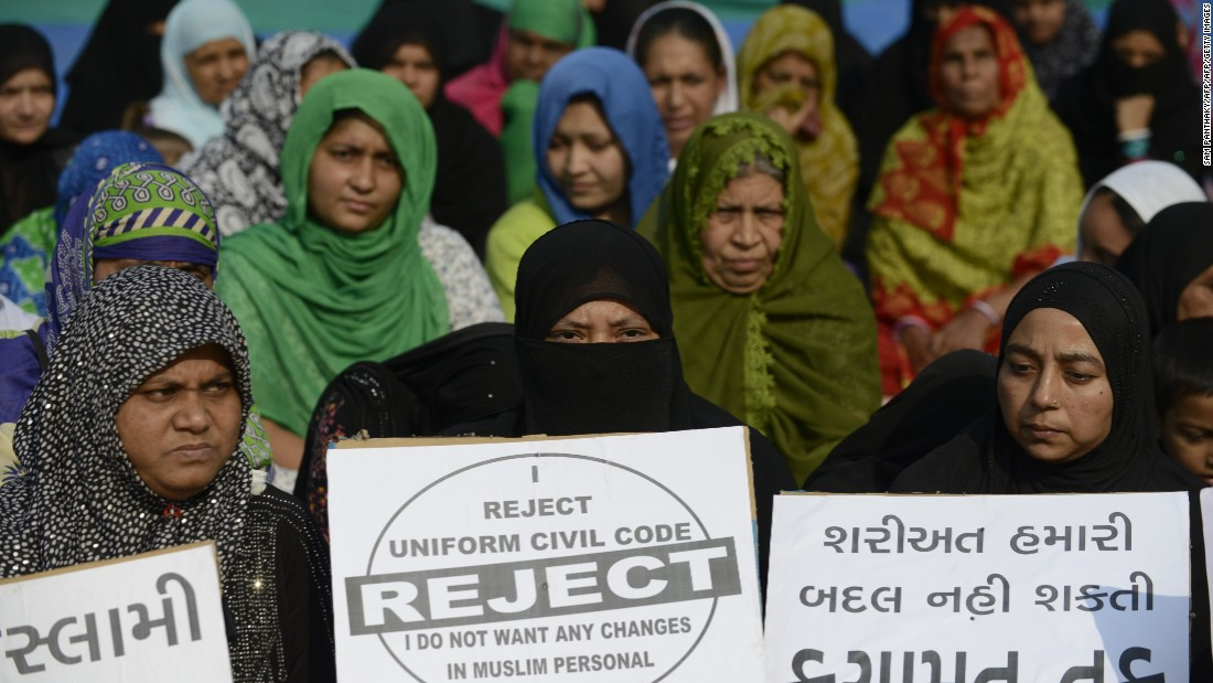 Triple talaq: India's top court bans Islamic practice of ...