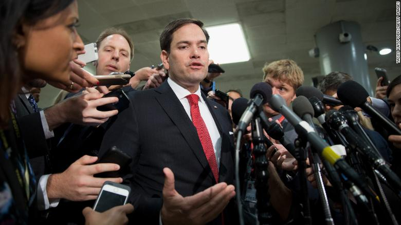 WH: Rubio should be excited with our progress