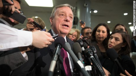 Durbin: Firing Mueller or Rosenstein over Nunes memo 'could precipitate a constitutional crisis'