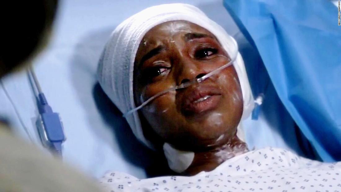 Star Bids Farewell To Greys Anatomy Cnn Video