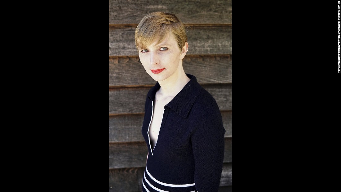 "US Army Pvt. Chelsea Manning posted this <a href=""http://www.cnn.com/2017/05/18/politics/chelsea-manning-instagram/"" target=""_blank"">self-portrait</a> to her Instagram account on Thursday, May 18. Manning, the transgender soldier formerly known as Bradley Manning, revealed her new look after<a href=""http://www.cnn.com/2017/05/17/politics/chelsea-manning-release/"" target=""_blank""> being freed</a> from a Kansas military prison. Manning was convicted in 2013 of stealing classified documents and videos and leaking them to WikiLeaks. She was sentenced to 35 years in prison, but President Barack Obama commuted her sentence in January."