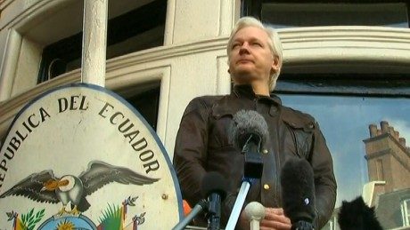 Assange: Threats against me won't be tolerated