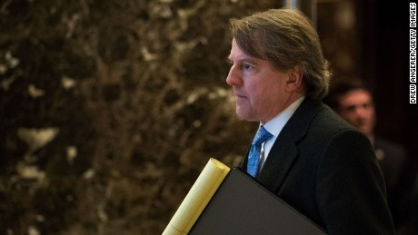 How Don McGahn helped secure Donald Trump's legacy