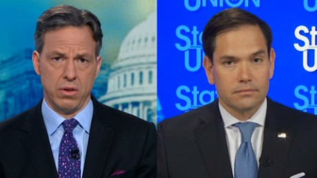 Tapper to Rubio: Did Trump obstruct justice?