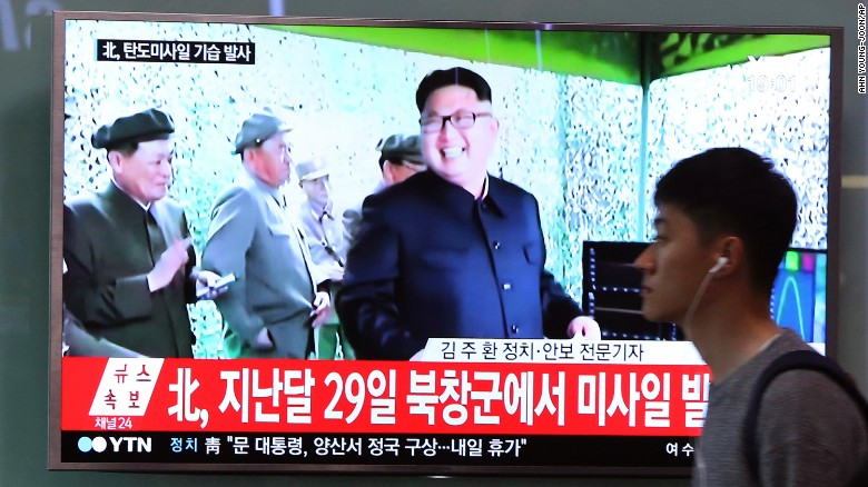North Korea tests second missile in one week