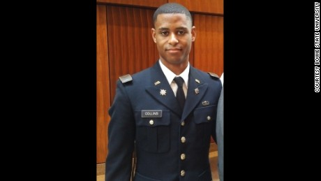 Richard Collins III, 23, was killed two days after he was commissioned as a US Army lieutenant.