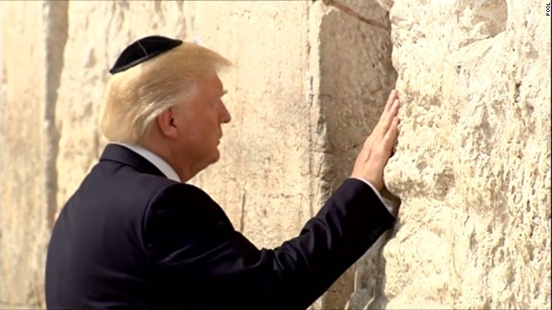 Image result for trump wailing wall