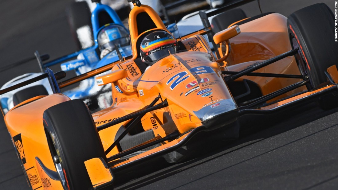 Out of the running in the 2017 season, Alonso chose to skip the Monaco Grand Prix in May to compete at the Indianapolis 500 -- the famous 500-mile Indy Car race in the US.