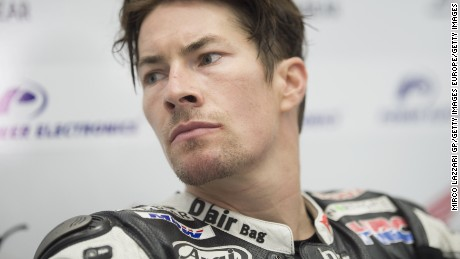 American Nicky Hayden won the MotoGP world championship in 2006.