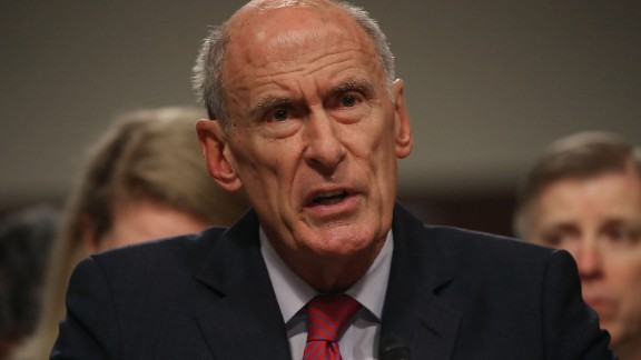 WASHINGTON, DC - MAY 23:  Director of National Intelligence Agency Dan Coats testifies during a Senate Armed Services Committee hearing on Capitol Hill 23, 2017 in Washington, DC. The committee is hearing testimony focused on worldwide threats.  (Photo by Mark Wilson/Getty Images)
