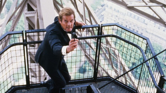 """Moore's last movie as Bond was """"A View to a Kill"""" in 1985."""