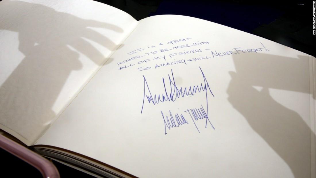 Ivanka Trump Signature