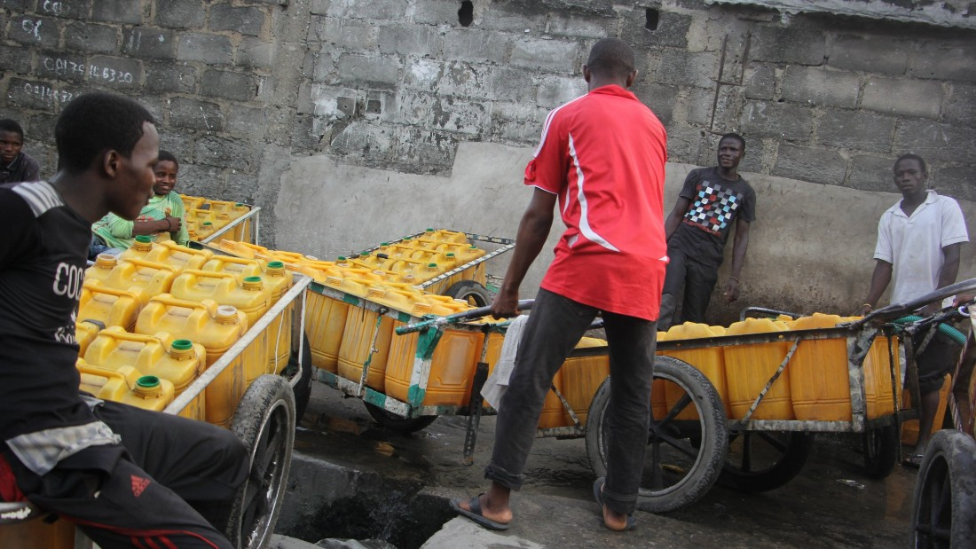 In Lagos access to water is a public health threat because of the interconnectedness of water, sanitation and public health.