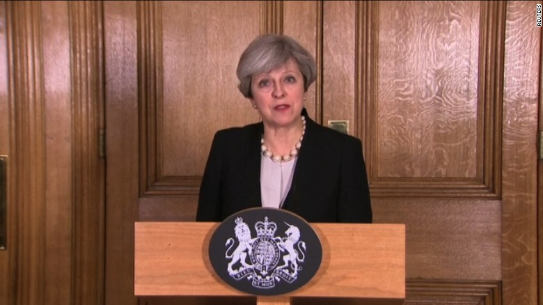 UK PM raises terror threat level to critical