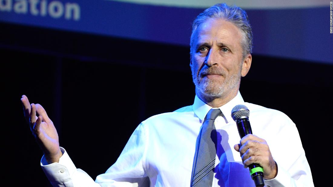 Jon Stewart admits 'Daily Show' didn't do enough to address diversity  - CNN Video