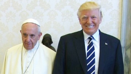 President Trump meets Pope Francis