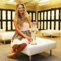 locker room azarenka