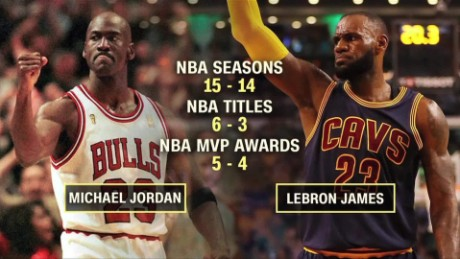 LeBron James vs. Michael Jordan: Who's better?