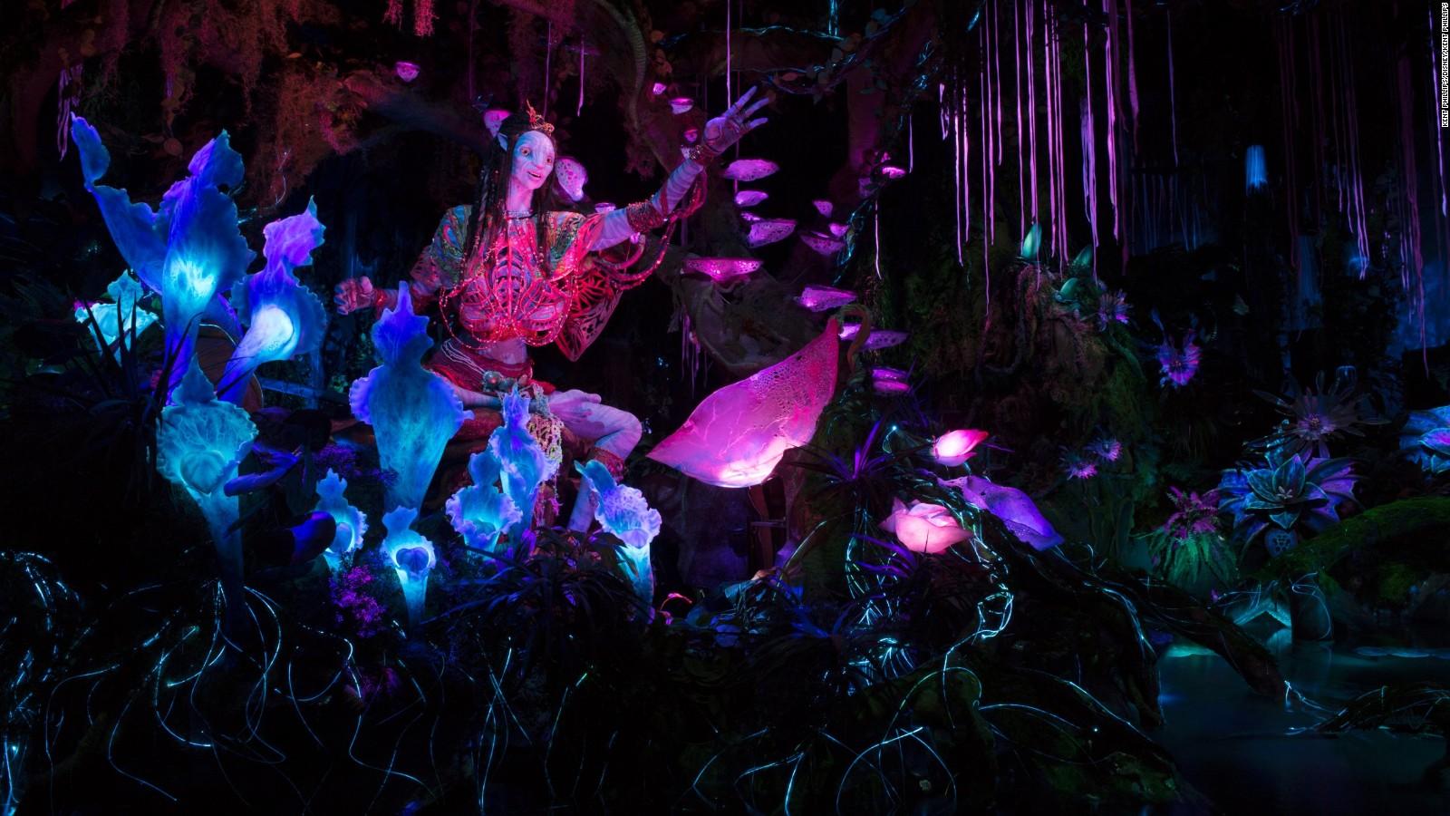 Pandora World Of Avatar At Disneys Animal Kingdom Cnn Travel