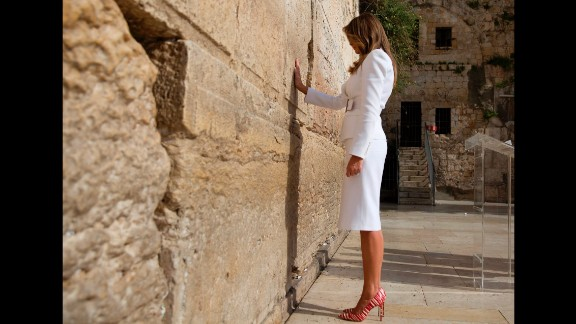 Trump visits the Western Wall, Judaism
