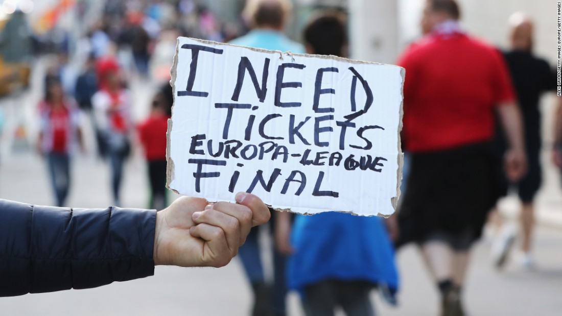 As with any major final, the hunt was on for tickets before the match.