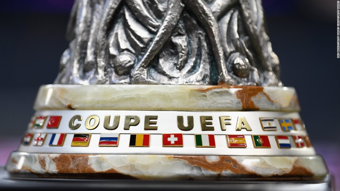 "The Europa League trophy weighs 15kg. Unusually the trophy has no handles, prompting the UEFA website to quip: ""The first challenge is how to hold it."""