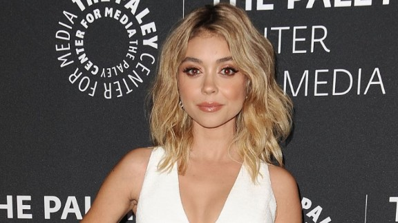 """Modern Family"" star Sarah Hyland posted a note on social media to refute speculation she has an eating disorder. The actress said she"