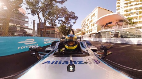 Take a lap of the Monaco Street Circuit in 360°