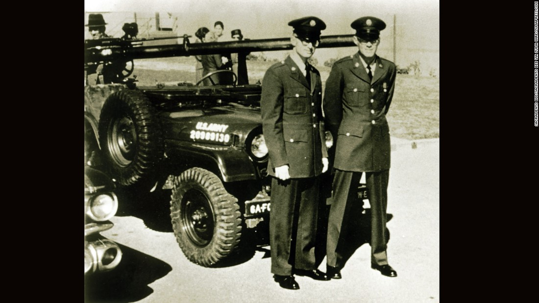 Kennedy, right, and Hamlyn pose for a photo after basic training.