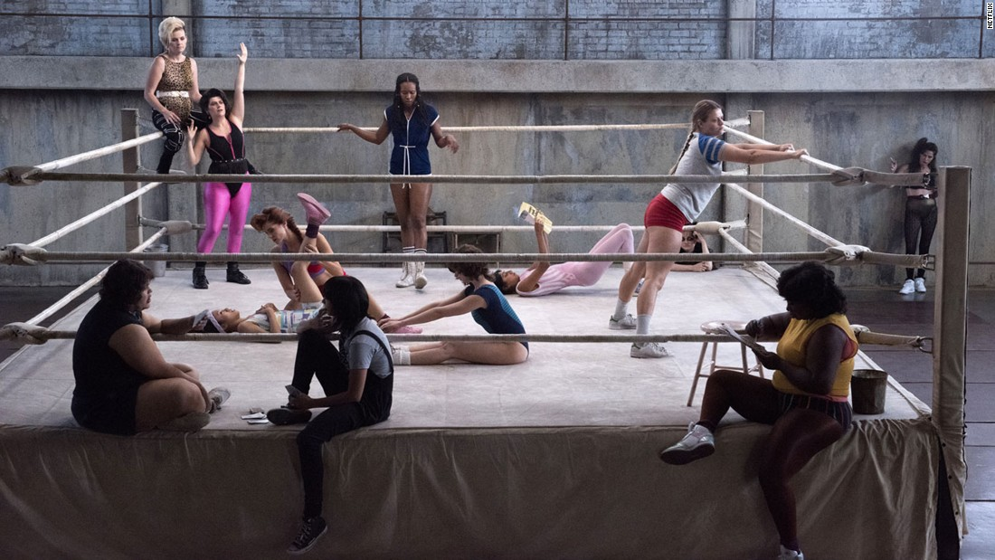 "<strong>""GLOW Season 1:</strong> This dramedy set in the 1980s is centered on the Gorgeous Ladies of Wrestling (GLOW) and their lives. <strong>(Netflix) </strong>"